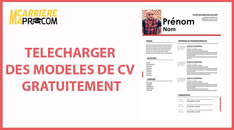Télécharger Un Cv Vierge Et Energique Word Ma Carrière Pro