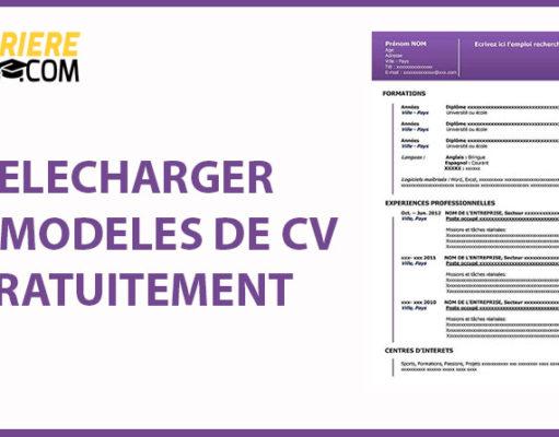 Cv Gratuits Archives Ma Carrière Pro